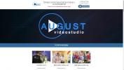 Landing Page Видеостудии August